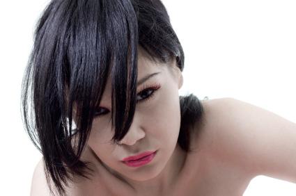 Stora mängder svart ögosnskugga är en viktig del av emo smink
